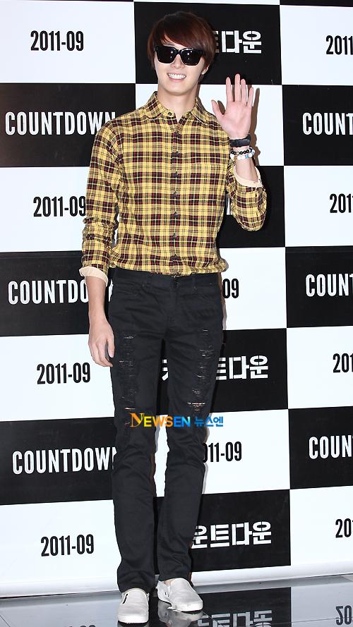 2011 9 20 Jung II-woo D Countodown Premiere