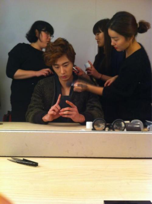 2011 11 Jung II-woo for First Look Magazine BTS 1