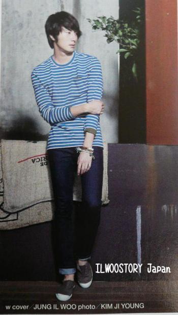 2011 11 Jung II-woo in Haru Hana Magazine 00003