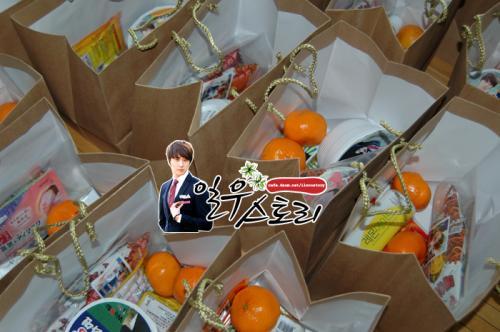 2011 12 11 Ilwoostory Fan Club treat Cast of FBRS. 00006