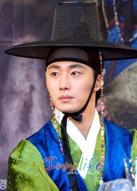 2012 1 2 Jung II-woo in The Moon that Embraces the Sun Press Conference 00016