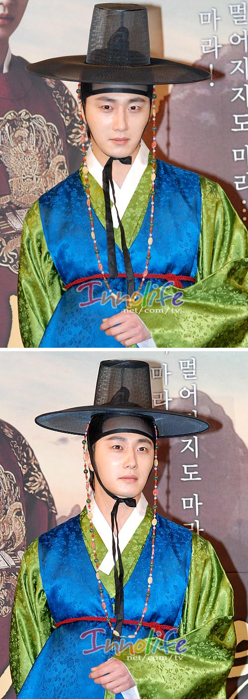 2012 1 2 Jung II-woo in The Moon that Embraces the Sun Press Conference 00018