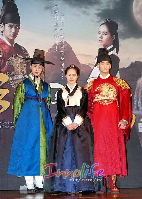2012 1 2 Jung II-woo in The Moon that Embraces the Sun Press Conference 00038