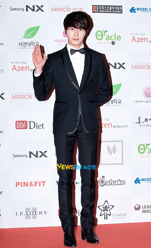 2012 1 18 Jung II-woo in Asia Model Awards 00015
