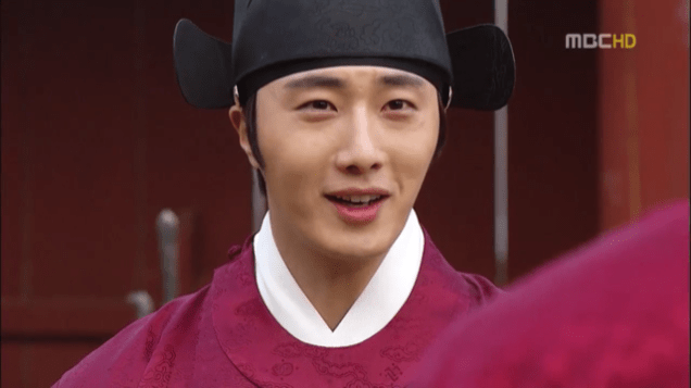 2012 2 Jung II-woo in The Moon that Embraces the Sun Episode 13 00012
