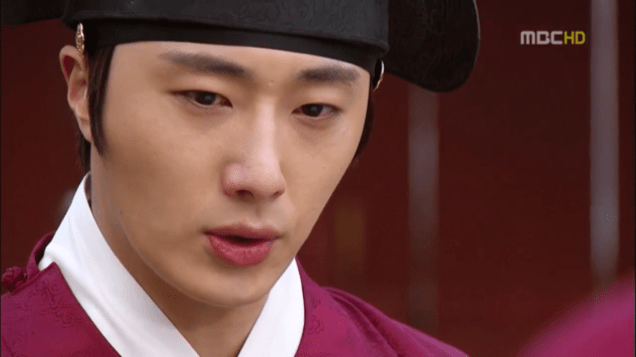 2012 2 Jung II-woo in The Moon that Embraces the Sun Episode 13 00015