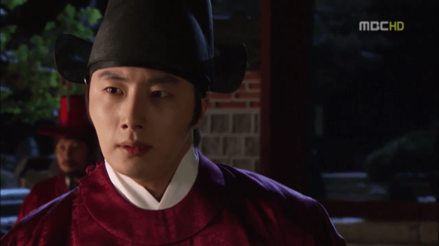 2012 2 Jung II-woo in The Moon that Embraces the Sun Episode 13 00033