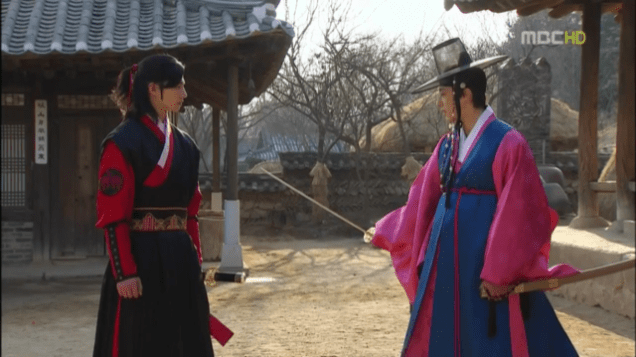 2012 2 Jung II-woo in The Moon that Embraces the Sun Episode 14 00014