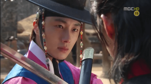 2012 2 Jung II-woo in The Moon that Embraces the Sun Episode 14 00018