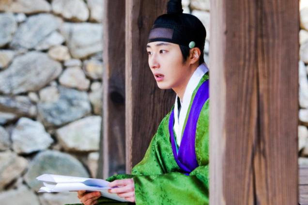 Jung II-woo in The Moon that Embraces the Sun BTS Episode 15 00004