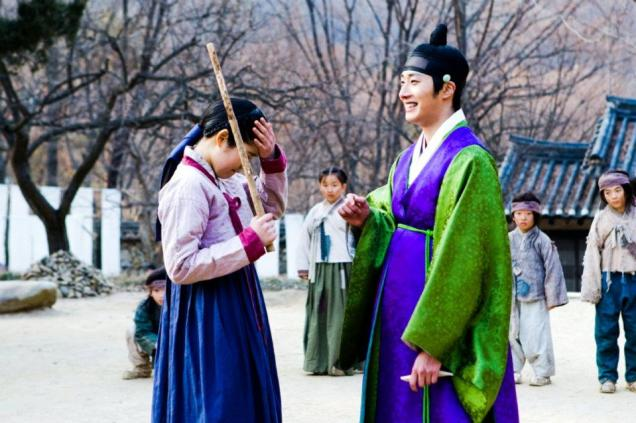Jung II-woo in The Moon that Embraces the Sun BTS Episode 15 00011