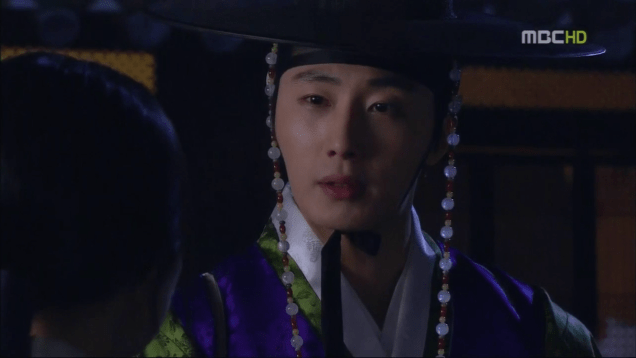 Jung II-woo in The Moon that Embraces the Sun Episode 15 00035