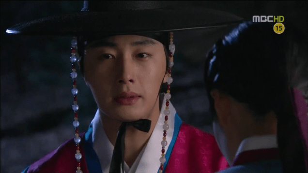 Jung II-woo in The Moon that Embraces the Sun Episode 17 00020
