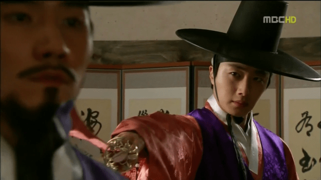 Jung II-woo in The Moon that Embraces the Sun Episode 18 00036