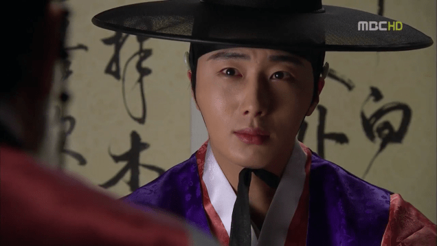 Jung II-woo in The Moon that Embraces the Sun Episode 19 00013