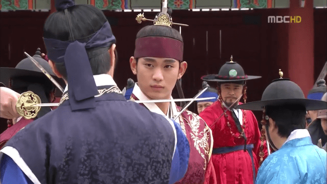 Jung II-woo in The Moon that Embraces the Sun Episode 19 00029