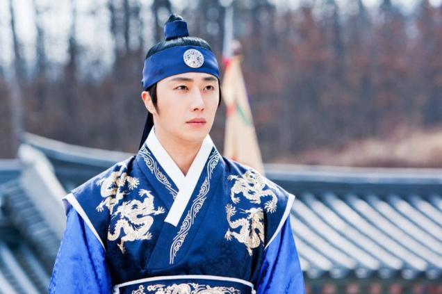Jung II-woo in The Moon that Embraces the Sun Episode 20 BTS Medium 00006