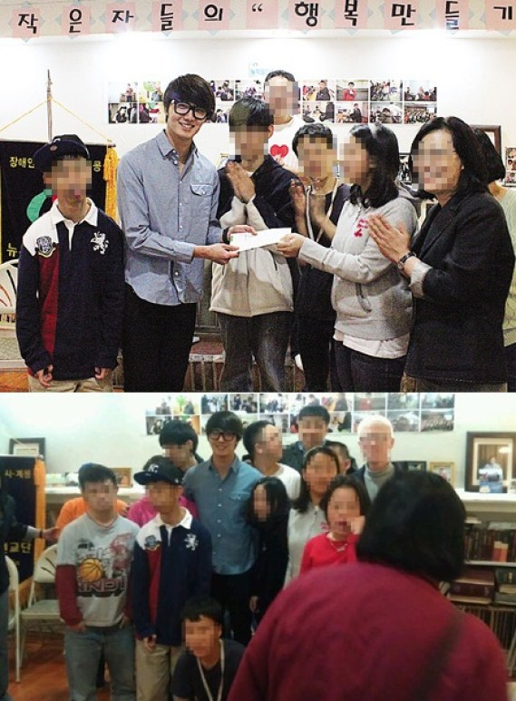 Jung II-woo visits the Hyundai Office of Miracle Disability Mission in NYC 2012 03 Cr. Faru2000002