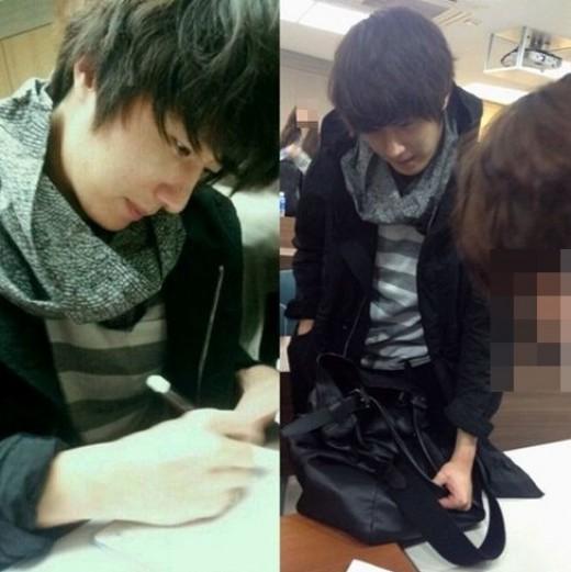 2012 10 16 TV Reprot Jung II-woo back at Hanyang..jpg