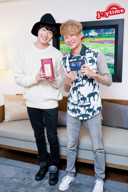 2012 10 23 Jung II-woo travels to Taiwan. I love JK Program 00005