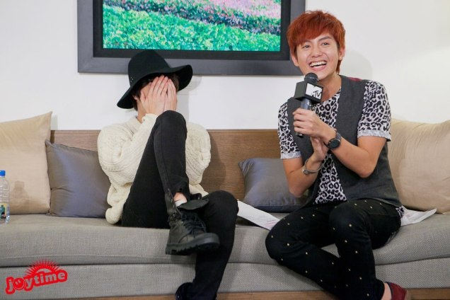 2012 10 23 Jung II-woo travels to Taiwan. I love JK Program HOST 2 00006