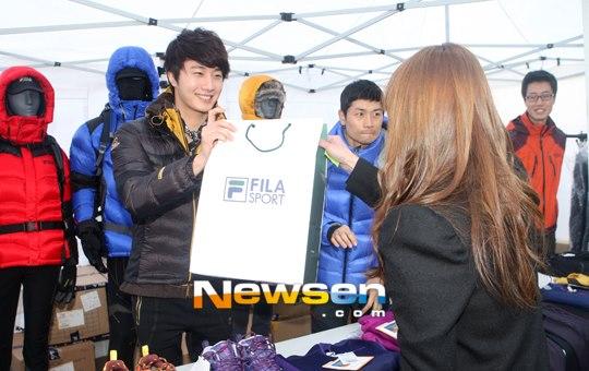 2012 11 3 Jung II-woo for FILA's Green Campaign00035