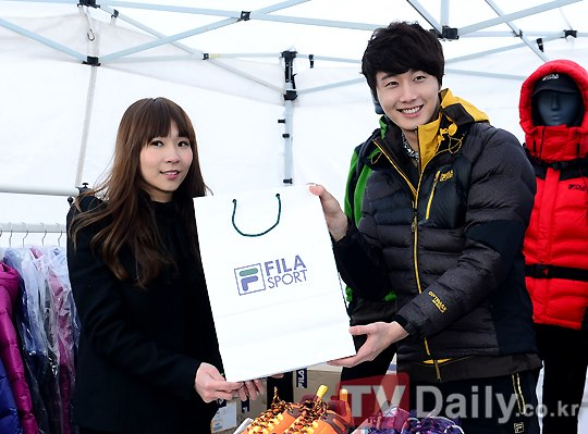 2012 11 3 Jung II-woo for FILA's Green Campaign00037