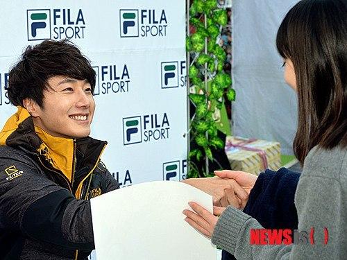 2012 11 3 Jung II-woo for FILA's Green Campaign00041