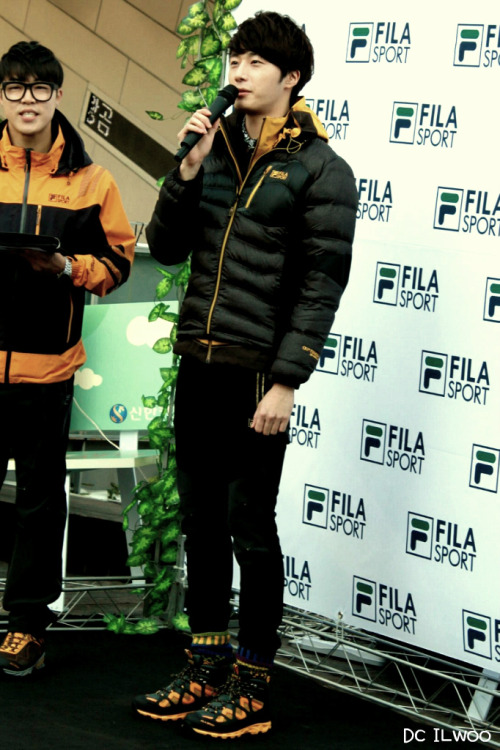 2012 11 3 Jung II-woo for FILA's Green Campaign00060