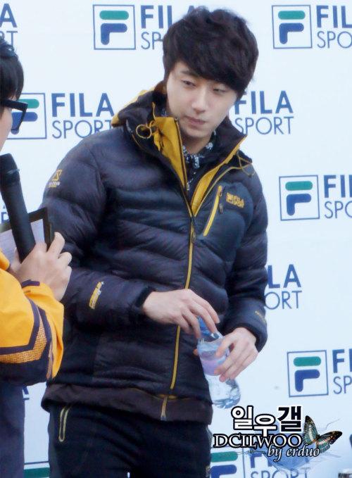 2012 11 3 Jung II-woo for FILA's Green Campaign00080