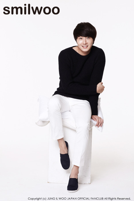 2012 11 Jung II-woo for SMILWOO Japanese Fan Club Photoshoot 100001