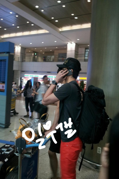 2012 5 20 Jung II-woo in Thailand (Personal Trip) At airport... 00002
