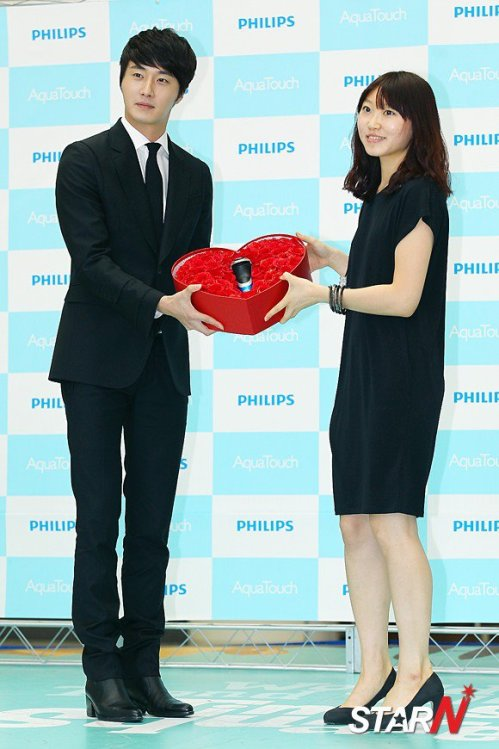 2012 5 Jung II-woo in Philip's Event for winning best skin among male college students 00041