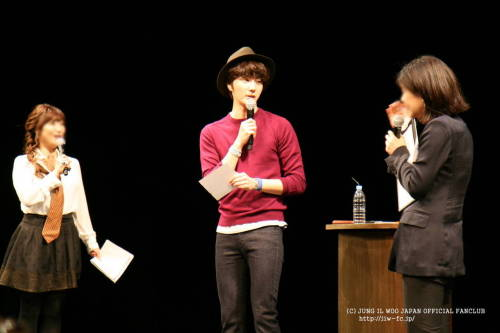 2012 9 9 Jung II-woo at Smilwoo's Inauguration: Fanmeet Birthday 00002