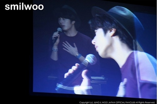 2012 9 9 Jung II-woo at Smilwoo's Inauguration: Fanmeet Birthday 00011