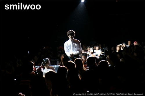 2012 9 9 Jung II-woo practicing for Smilwoo's Inauguration: Fanmeet Birthday 00004