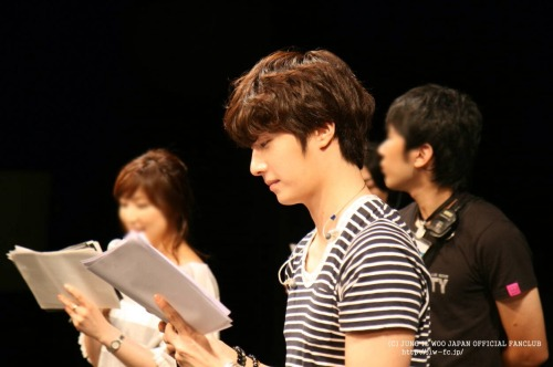 2012 9 9 Jung II-woo practicing for Smilwoo's Inauguration: Fanmeet Birthday 00006