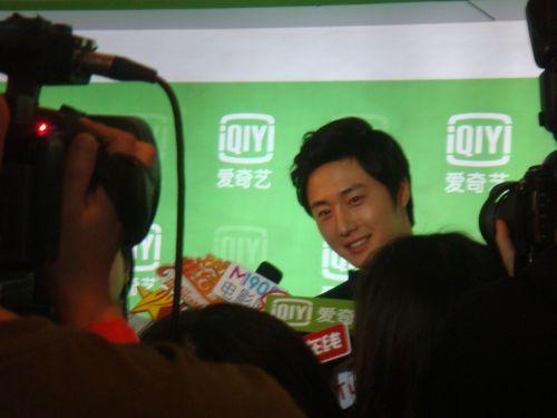 2013 1 4 Jung II-woo wins IQIYI Award from China 00007