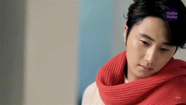 2013 10 9 Jung II-woo (and Park Shin-hye) for Holika Holika Take 2 00009