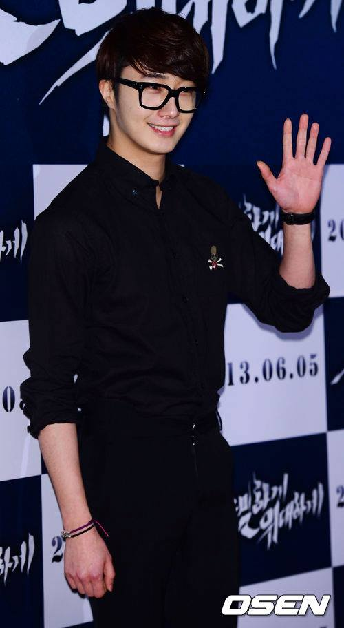 2013 5 Jung II-woo at the VIP Premiere of the Movie Greatly in Secret00008