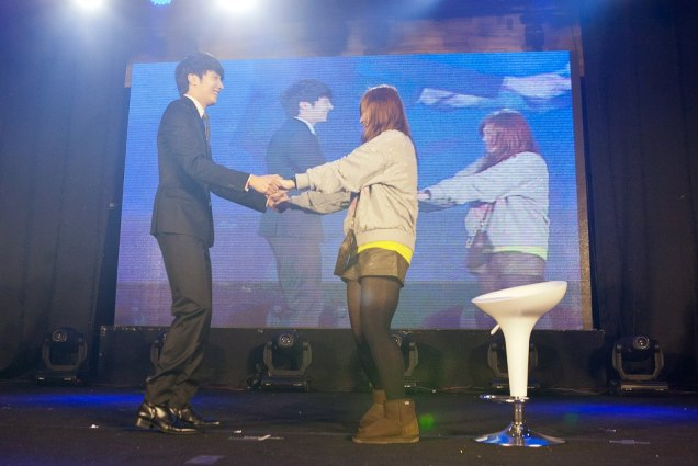 Jung II-woo at Taiwan's Fan Meeting 2012 12 8 With Fans00007
