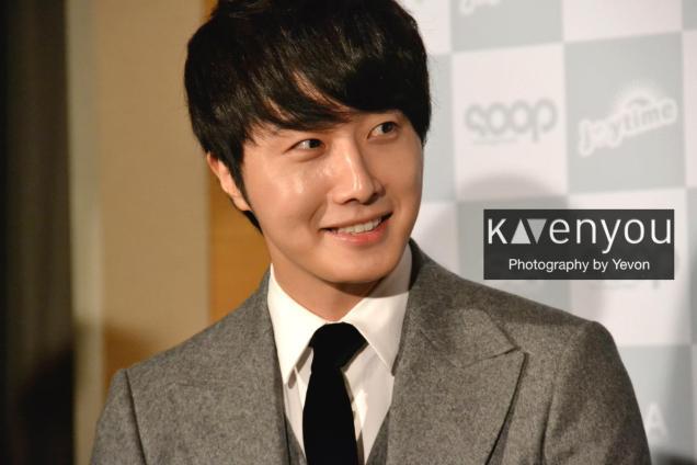 Jung II-woo at Taiwan's Press Conference 12 7 201200005
