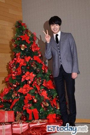 Jung II-woo at Taiwan's Press Conference 12 7 201200050