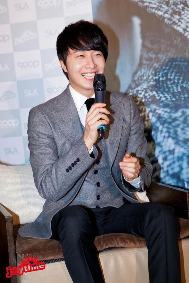 Jung II-woo at Taiwan's Press Conference 12 7 201200052