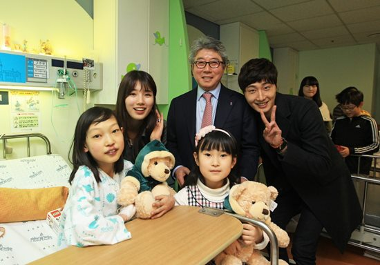 Jung II-woo participates in Domino's Hope Sharing Pizza Party.00004