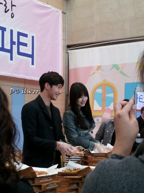 Jung II-woo participates in Domino's Hope Sharing Pizza Party.00014