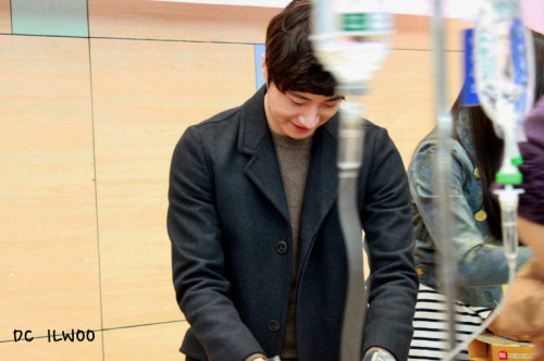 Jung II-woo participates in Domino's Hope Sharing Pizza Party.00020