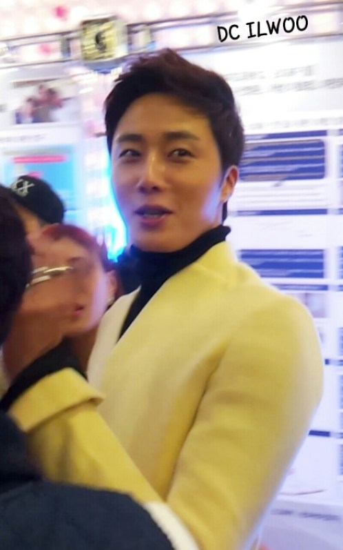 2013 10 31 Jung II-woo in the Golden Rainbow Press Conference 00024