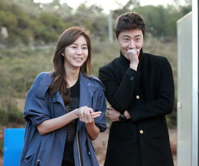 2013 10 Jung II-woo Golden Rainbow, Meeting younger cast...00001.jpg