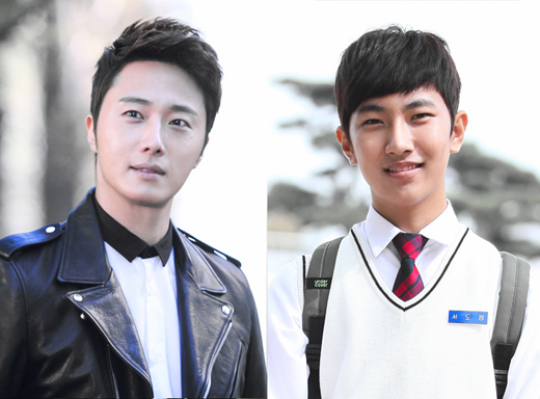 2013 10 Jung II-woo Golden Rainbow, Meeting younger cast...00003.jpg